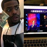 Check out Vine star @kingbachs reaction to the #BieberRoast. See more live action in @shots: https://t.co/s4ctbwMVM8 http://t.co/PUL8UuBynF