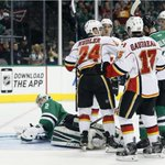 GAME STORY: #Flames capitalize on bounces and solidify playoff spot with 5-3 win over Stars http://t.co/WRGzIJk67E http://t.co/CCFJopuKwm