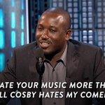 .@HannibalBuress really, really hates @JustinBiebers music. #BieberRoast http://t.co/L4XDH0F72R