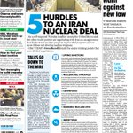 A look at Tuesdays paper: 9 #Indiana CEOs want changes to religious freedom law. 5 sticking points in #Iran deal. http://t.co/bOkzu1w0u6