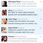 """@NaughtyBoyMusic: gotta love the fandom :) X #DMs http://t.co/5CLk3tpup9"" when you literally have six fans"