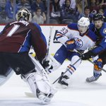 Oilers bury Avalanche 4-1 http://t.co/VgrzH56IoY Comments from Miller, Davidson and Bachman, highlight video http://t.co/7YUmFjhGrN