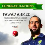 Today Ahmed became the first former asylum seeker to be named in Aus #Ashes squad. Congratulations! http://t.co/dowg6TljGI