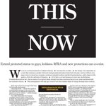Tuesdays Indianapolis Star cover takes a firm stand on new law http://t.co/0YryGhUkzC (Photo: @IndyStar) http://t.co/cfOeqxdY1Q