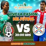 ¡Estamos con el TRI! Mañana no te pierdas el partido ante Paraguay, disfrútalo en tu sucursal preferida. #Deportes http://t.co/G9aIYYuhQ2