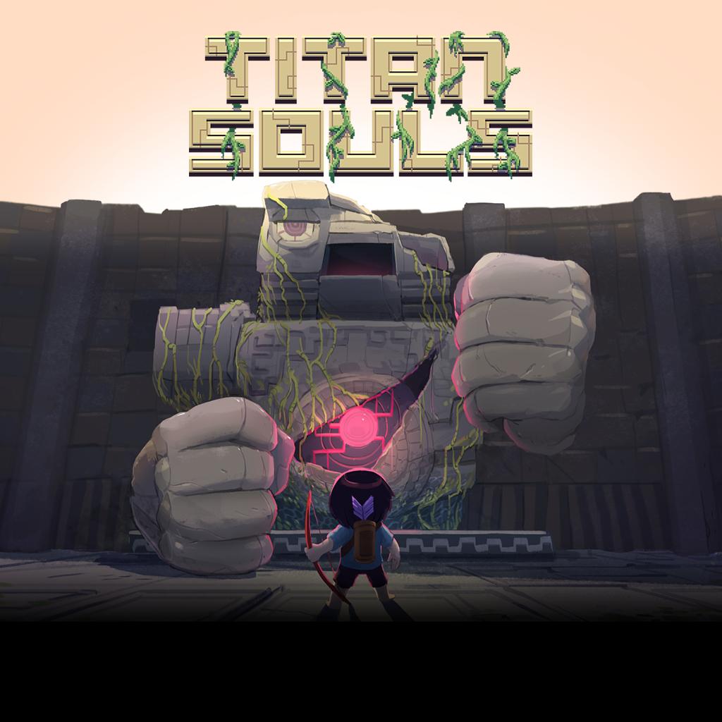 Titan Souls - это хардкорная аркадно-приключенческая игра, выполненная в ре