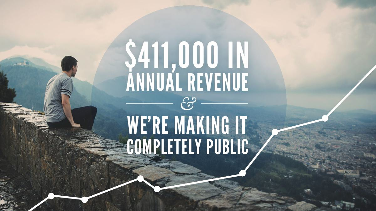 Very excited to share: http://t.co/qzsNxtFopM Today @TryGhost turns over $411,000 & all of our revenue is now public. http://t.co/AxmlRzytPw