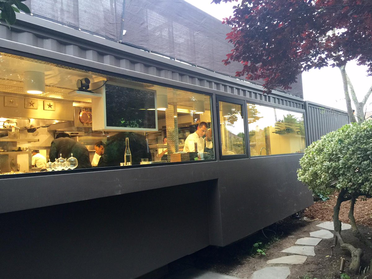 The french laundry reopens with a new temporary kitchen
