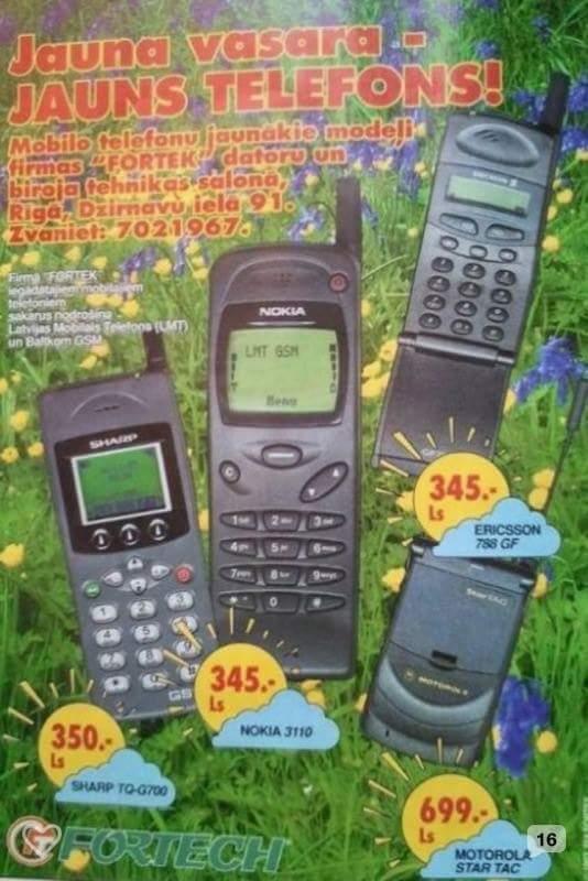 Ir vēl kāds, kurš uzskata, ka pēdējās paaudzes viedtālruņi ir dārgi? :) http://t.co/T0OX1oDjqw