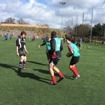 The half term camp is in full swing @SandyParkExeter today! Glad to be in the sunshine! @ExeterChiefs @premrugby http://t.co/IvNEKYbTm3