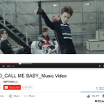 "EXOs ""Call Me Baby"" Korean ver. MV hits 1,000,000 YouTube views in 7 hours (cr: SMTownEngSub) http://t.co/6TKnID8Ptd"
