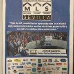 Hoy salimos en @abcdesevilla junto a todos los compañeros de @MLSSevilla .La mayor fuerza de ventas de nuestra ciudad http://t.co/tcDv5czl2c
