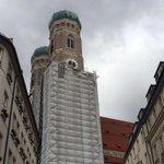 #Sturm #Niklas zieht am Gerüst an der #Frauenkirche #München http://t.co/xkONy4ES9N