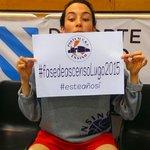 Este es nuestro año, esta es nuestra fase! Ey! Mira, estoy aquí!! @PauReggi  #fasedeascensoLugo2015 @baloncestofeb http://t.co/uNDliMEcGq