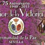 Hoy, 75 años de la talla del Señor de la Victoria de la Hermandad de la Paz en el cupón http://t.co/6UK3PH53fS http://t.co/5VRHXeZ7Om