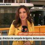 Isabel Gallego, directora de campaña de Esperanza Aguirre, a punto de declarar ante el juez por la Operación Púnica. http://t.co/DOQrmeWnHY