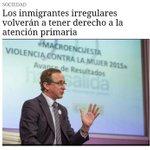 Alfonso Alonso anuncia esta medida en una entrevista a EFE, PERO añade que NO recuperarán la tarjeta sanitaria. http://t.co/EzoNtdfNL7