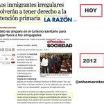 Hola @sanidadgob ¿Ya no hay TURISMO SANITARIO y por eso se puede devolver atención primaria a inmigrantes? http://t.co/Q609FBvYIb