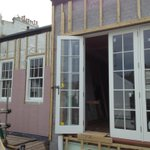 The rest of the week #brighton #town #sashwindows #timber #frame joinery supplied by @westgatejoinery http://t.co/9zvcXFhD0z