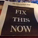 This is the most amazing and dramatic front page of @Indystar I can ever remember: http://t.co/ASBxuwK2xj