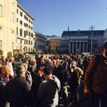 #genova. In piazza de Ferrari con i lavoratori di #Fincantieri in sciopero x difendere il cantiere di Sestri Ponente http://t.co/QtJl3J4HzH