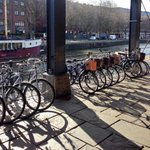 #bike sale at @No1Harbourside this morning #vintagebikes #neednewwheels And its sunny! #Bristol http://t.co/g67CkzjesN
