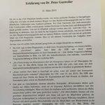 Wegen Euro und Griechenhilfe: CSU-Gauweiler verlässt Bundestag. Hier seine Erklärung http://t.co/W0jicynT1U