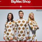 マクドナルドが「ビッグマック」のファッションライン発表 全身ビッグマック柄の下着など発売 http://t.co/cd3s9p6K8Z http://t.co/RbXqb8VGtn