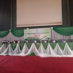 It is a waiting game here @ d National Collation Centre Abuja on day 3 of d Presidential Election result Collation http://t.co/6mmdK6esQy