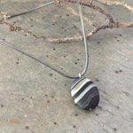 Jasper necklace leather choker necklace sterling by JabberDuck http://t.co/jdLmpsn6vV http://t.co/jTQDV7pZ4Q