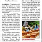 Delhi Jal Board has put in Summer Action Plan. #AAPatWork http://t.co/KF7k577Ajv