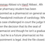 #FakePMFakeProjects Must read about Hanif Abbasi, its worth reading... http://t.co/xm7PUEXBni