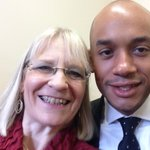 In the kitchen with @ChukaUmunna waiting to speak abt #swindon small businesses! http://t.co/NiaCyVfFql