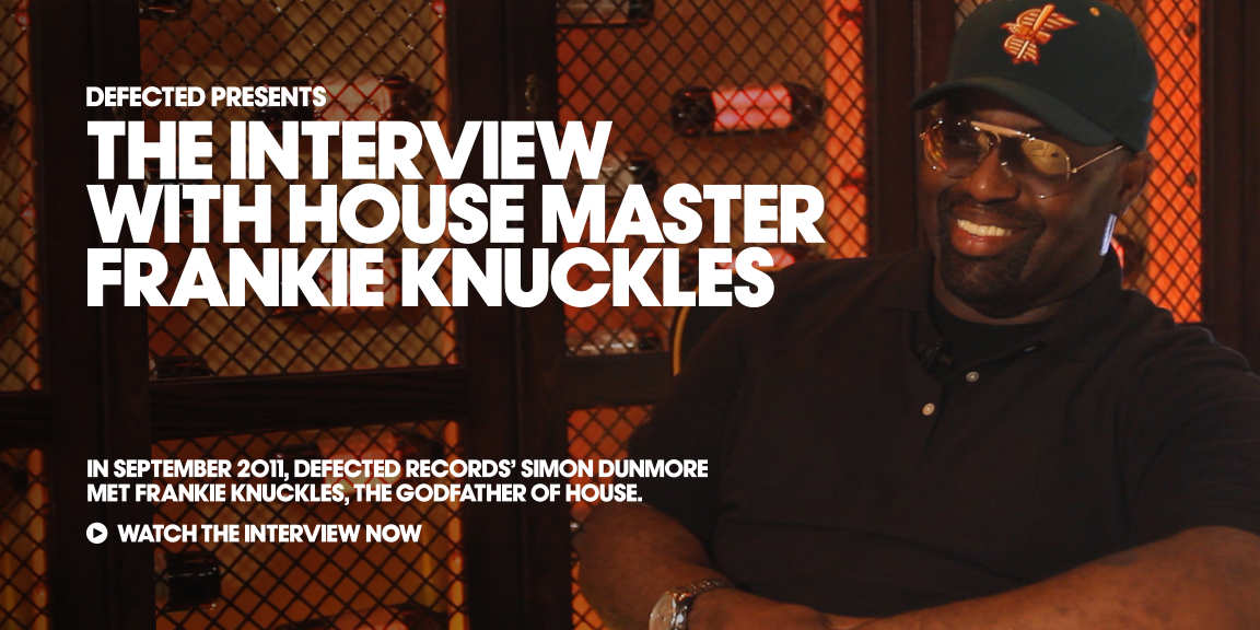 Frankie Knuckles, The Godfather of House 1955-2014. The Interview with House Master @FKAlways http://t.co/l3ZU9kcs3k http://t.co/L7yOe4VJkd