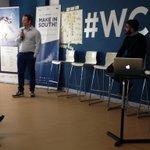 @carloleonardi_ di @youthub racconta la sua isola felice a Catania e le nuove attività #StartUp #makeinsouth15 #wcap http://t.co/IgjXlPWNyQ
