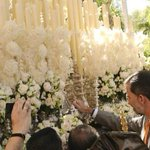 Imagen histórica. El Rey de España, Felipe VI, llamó ayer al martillo del paso de palio de la Virgen de las Mercedes. http://t.co/bDvCvPJGHG