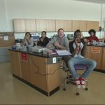 AWESOME Wake Up Call from #Brockton High Schools biotech lab! Great job, guys! Watch: http://t.co/PjGThpf2AK #WCVB http://t.co/TZY3nOoVF2