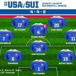#USMNT Lineup: Rimando; Chandler, Orozco, Brooks, Shea; Bedoya, Williams, Bradley (c), Morales; Zardes, Altidore http://t.co/loWfLIzly5