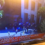 Tune in @nbc6 @JuliaNBC6 w/ latest on stabbing at #Killian high. Boy transported. Stable. http://t.co/HN77qyt4Cp
