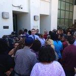 Chaos outside Killian senior high school. Student stabbed. @nbc6 http://t.co/qhtkD4q1kr