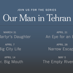 Join us today for the next episode in the series, Our Man in Tehran with @ThomasErdbrink http://t.co/NDyPP9G8KY http://t.co/s6SXqNt9VK