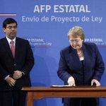 Ocho de cada 10 chilenos están a favor de una AFP estatal http://t.co/yBTujkTRYX http://t.co/uX4eTRV7dC