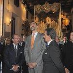 Más imágenes de la visita que recibimos ayer por parte de Su Majestad @SMelReyFelipeVI. (Vía @abcdesevilla) http://t.co/oommx63oNg