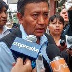 Ahora: ministro de Defensa de Boliviano, Jorge Ledesma, llega a Copiapó @Cooperativa http://t.co/GWdwvmxQXb