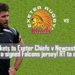 Win 2 tix to @ExeterChiefs v @FalconsRugby in @ERChallengeCup and a signed Falcons shirt. RT to enter. #GilbertEurope http://t.co/fOXAZjQTeO
