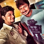 RT @_veeJ: The producer I respect ! Interviewed @Udhaystalin for #Nannbenda promotions ! Cool and chilled out he is ! http://t.co/h04qEJs4KZ