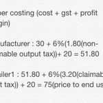 Had a chat with a friend and he explained to me very clear abt this GST fuss. Do correct me if Im wrong. http://t.co/kQwrTmKetT