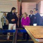 """Pdta. Bachelet: """"Estamos aquí para ver el tipo de solución que empezará a llegar esta semana a las localidades"""". http://t.co/05wJkuFzvP"""