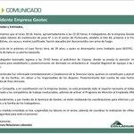 COMUNICADO: Desconocidos balearon a contratistas de Collahuasi en hito 60 próximo a frontera con Bolivia. http://t.co/G1yb9dEiWo