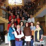 Recibiendo en el Ayuntamiento a los protagonistas del grupo turco de intercambio Miguelturra - Izmir. http://t.co/5lnWNf5YNm